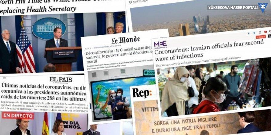 Dünya basınında Kovid-19: Avrupa'da normale dönme hazırlıkları