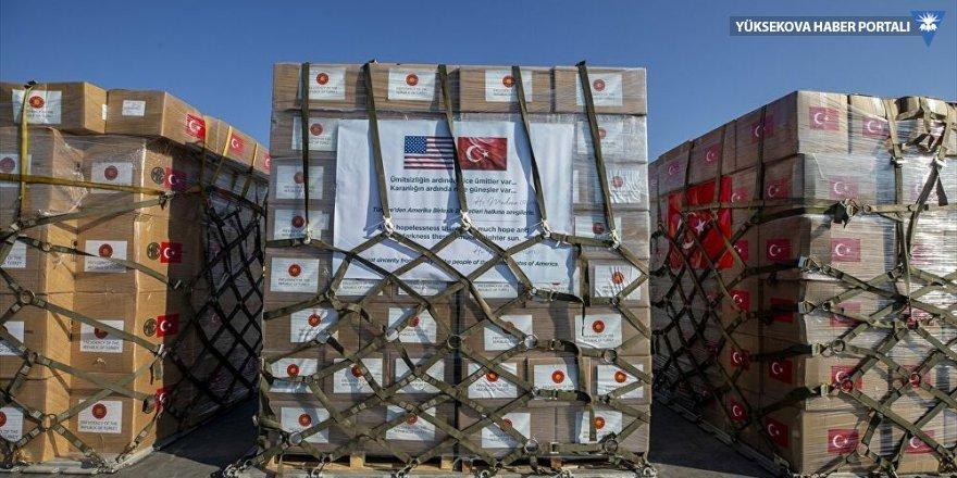 Türkiye'den ABD'ye ikinci tıbbi yardım seferi