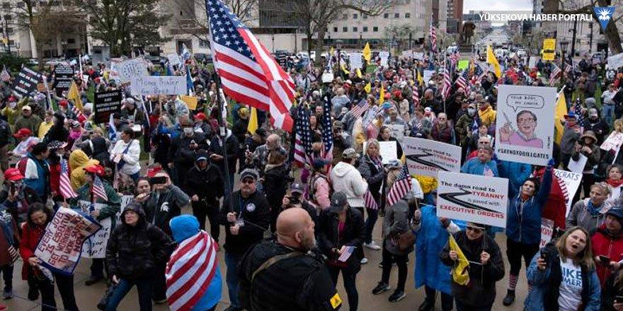 ABD'de karantina karşıtı silahlı eylemciler meclis binasını bastı