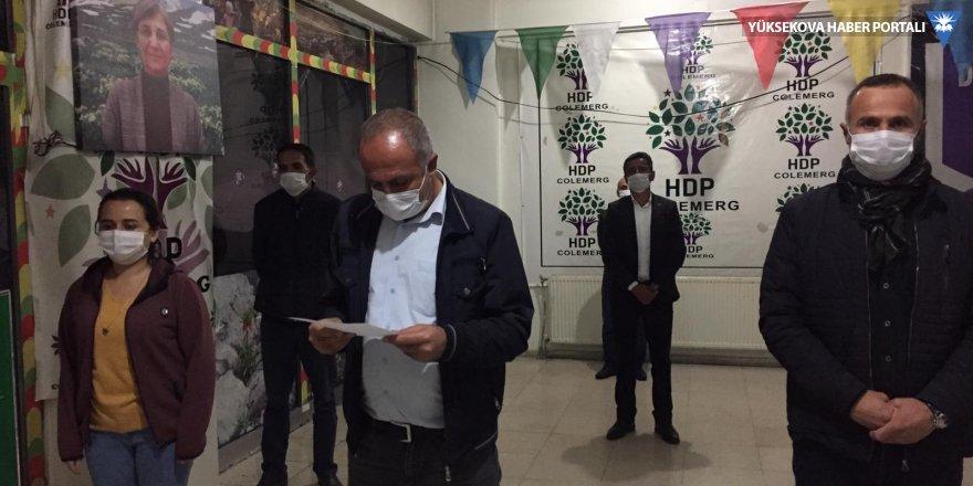 Kars Belediyesi'nin hedef alınmasına Hakkari'den tepki