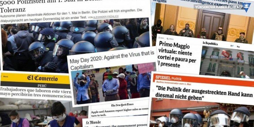 Dünya basınında 1 Mayıs