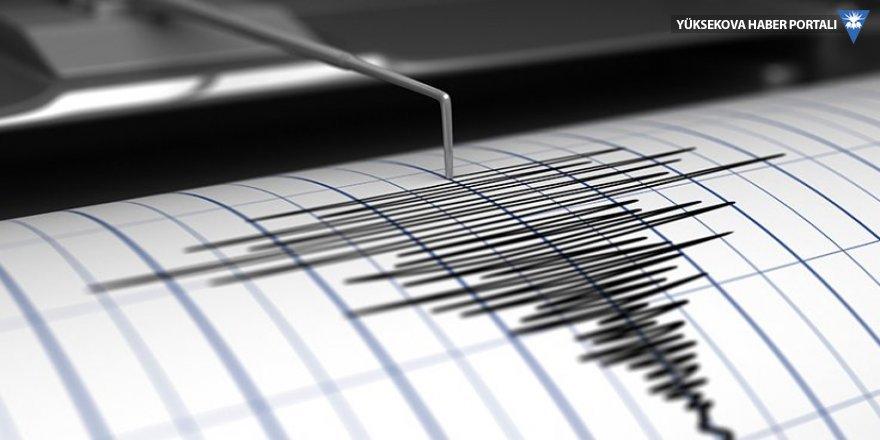 Başkale'de 4,4 büyüklüğünde deprem oldu