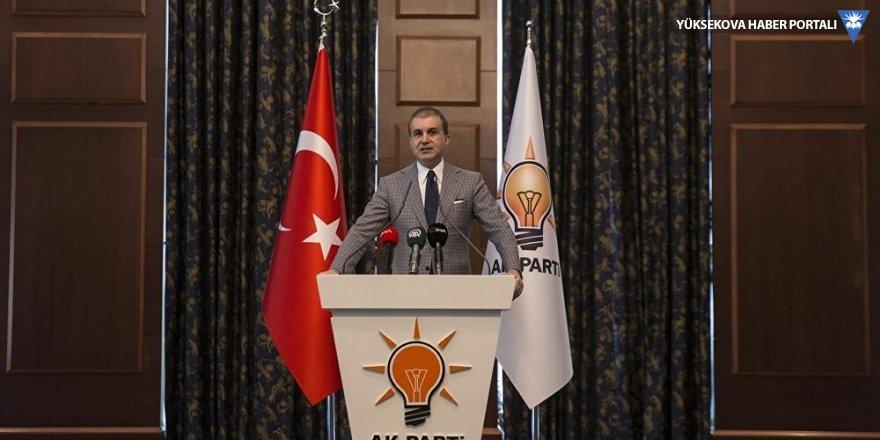AK Parti Sözcüsü Çelik: Türkiye'nin bir darbe gündemi yok