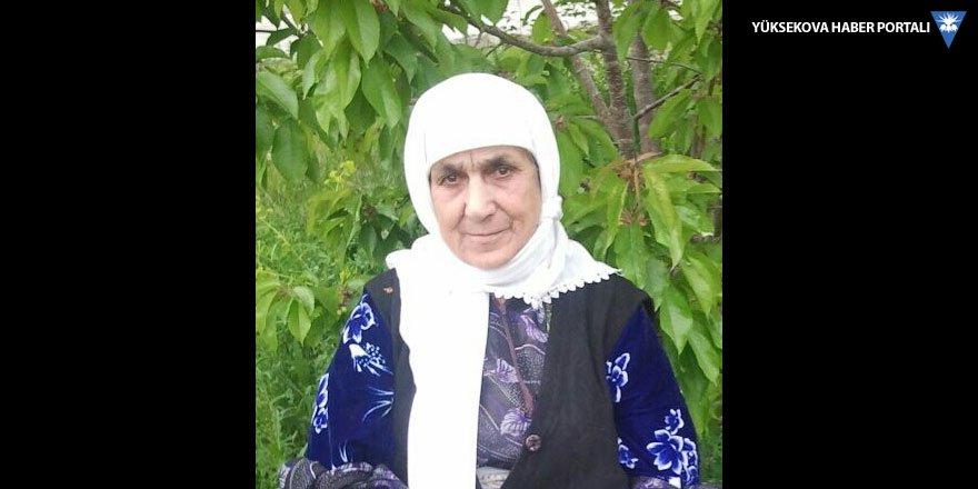 Yüksekova'da Vefat: Fatma Öztaş vefat etti