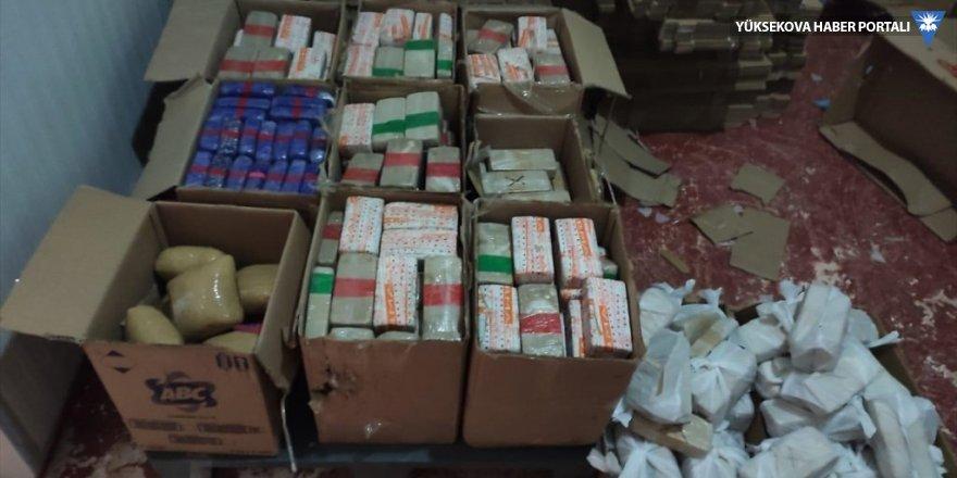 Van'da et entegre tesisinde 355 kilo 680 gram eroin ele geçirildi