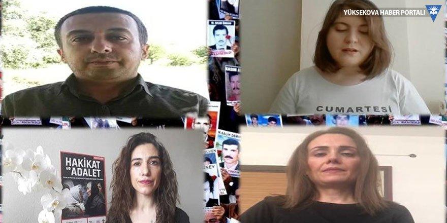 Cumartesi Anneleri Örhan ailesi için adalet istedi