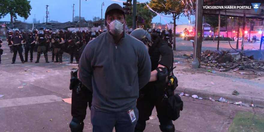 CNN ekibi canlı yayında gözaltına alındı