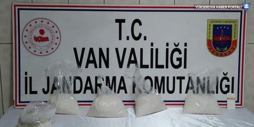 Van'da 5 kilogram uyuşturucu ele geçirildi