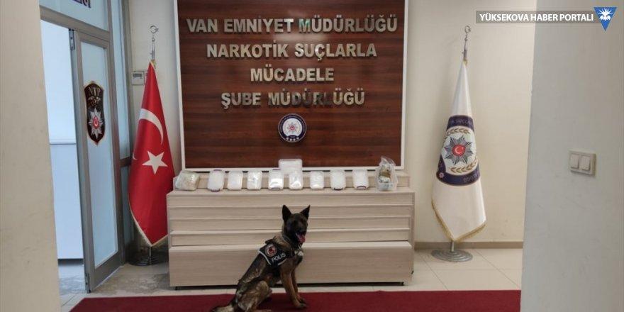 Van'da 11 kilo 124 gram uyuşturucu ele geçirildi