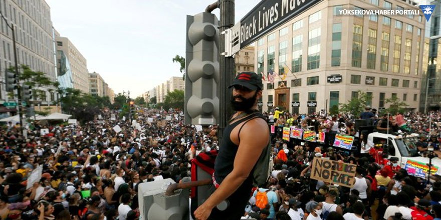 ABD'de yüz binler Floyd için yürüdü