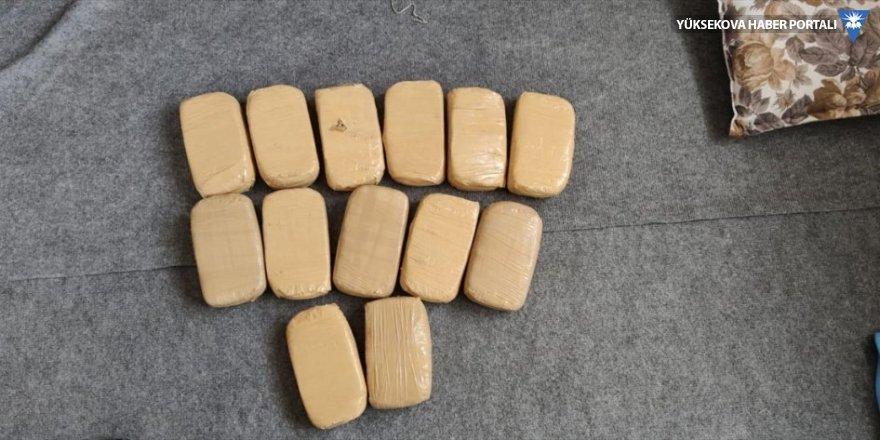 Van'da 6 kilo 771 gram eroin ele geçirildi