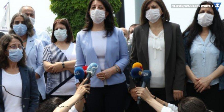 Buldan: Demokrasi gelene kadar bu yürüyüş sürecek