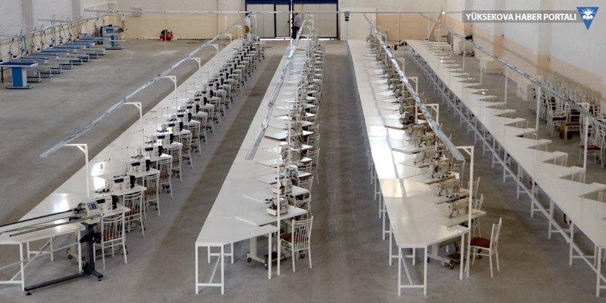Yüksekova'ya 350 kişilik tekstil atölyesi