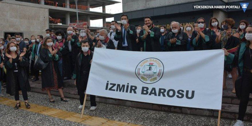 İzmir Barosu'ndan yürüyüş çağrısı:Direneceğiz