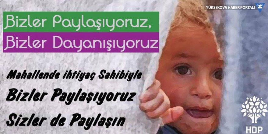 HDP'nin Kampanyasında 75 bin aileye ulaşıldı