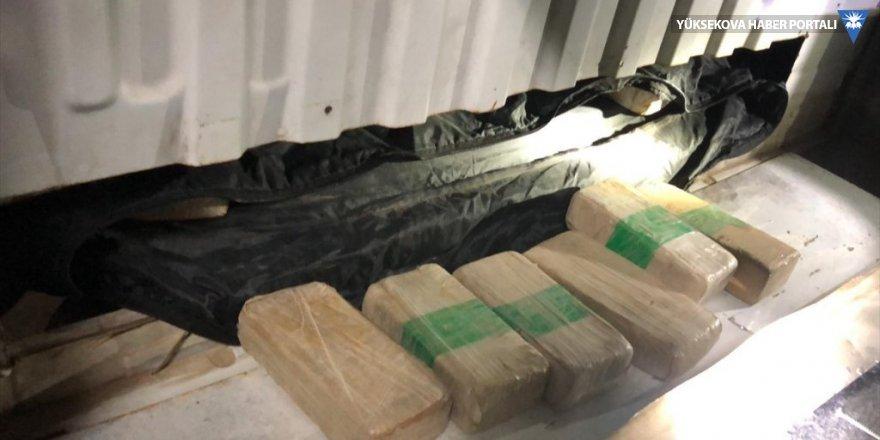 Van'da 53 kilo 200 gram eroin ele geçirildi