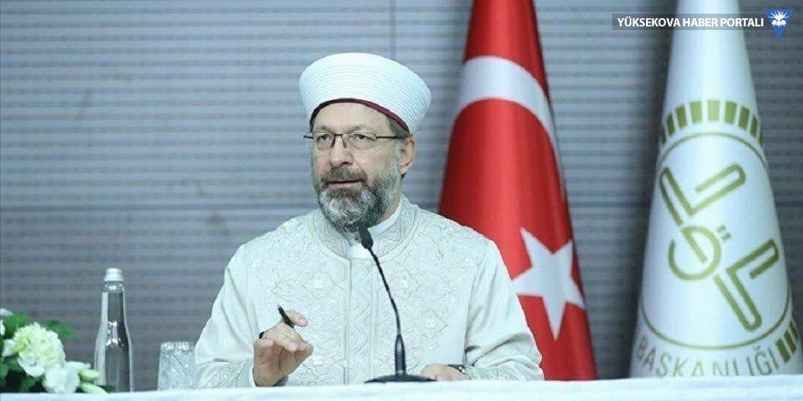 Diyanet İşleri Başkanı Erbaş'tan 81 il müftülüğüne normalleşme süreci talimatı