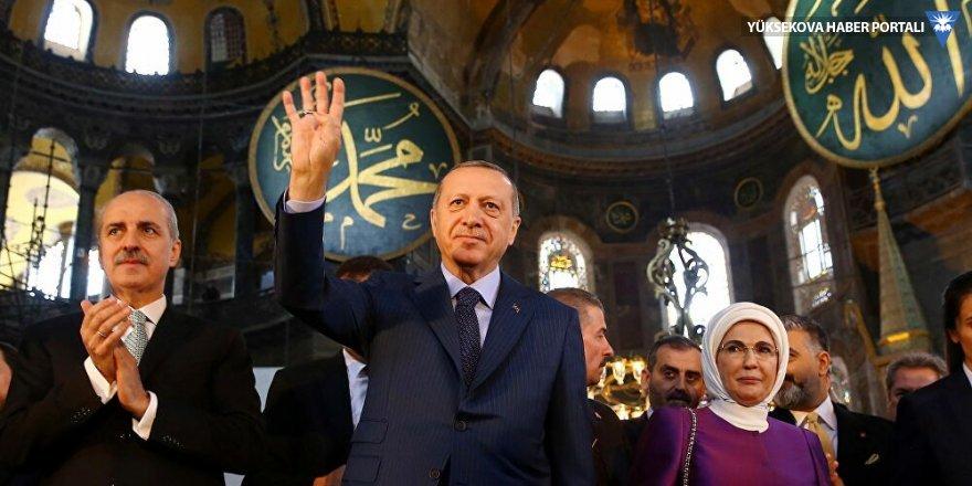 Erdoğan'dan kurmaylarına Ayasofya talimatı: Doğruları anlatın
