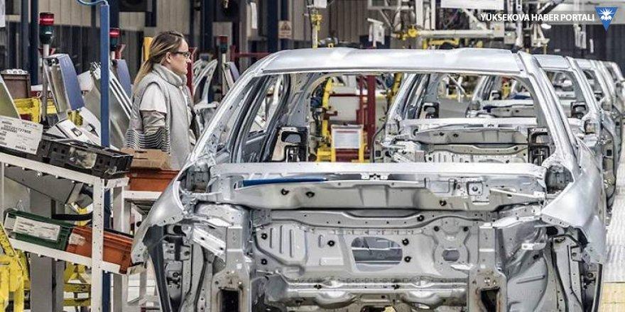 Otomotiv üretimi yüzde 29 daraldı