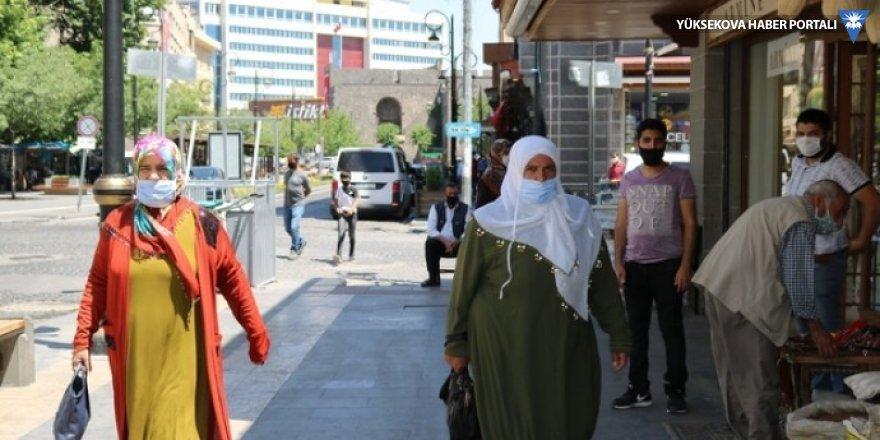 Diyarbakır'da vaka sayısına her gün 120 kişi ekleniyor