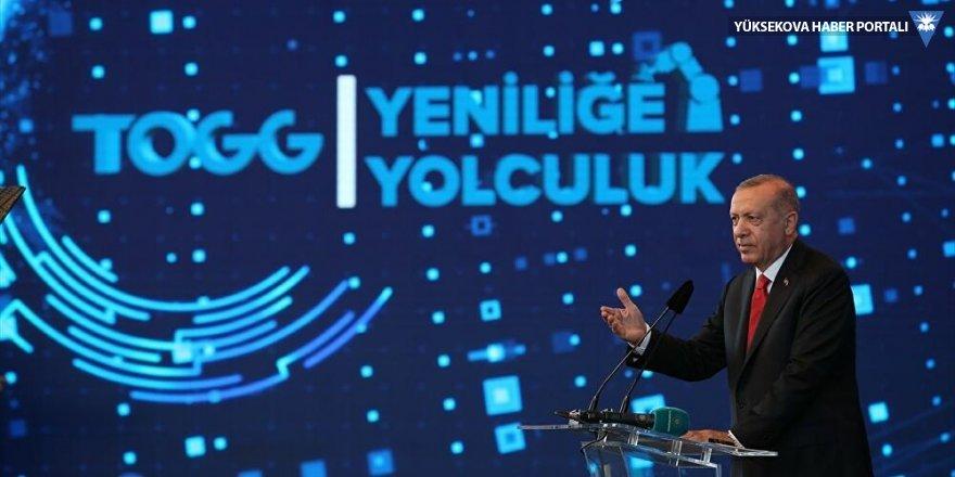 Erdoğan: Aracımızı 2022 yılının son çeyreğinde banttan indirmeyi planlıyoruz