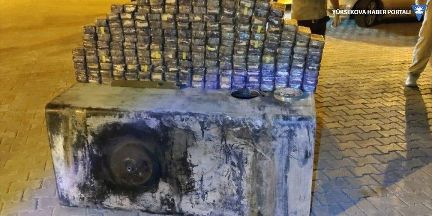 Van'da 104 kilo 100 gram eroin ele geçirildi