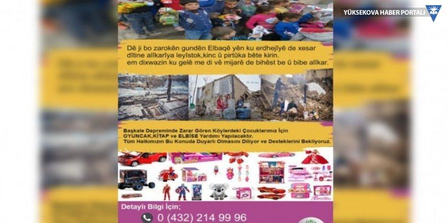 HDP Gençlik Meclisi'nden depremzede çocuklar için kampanya