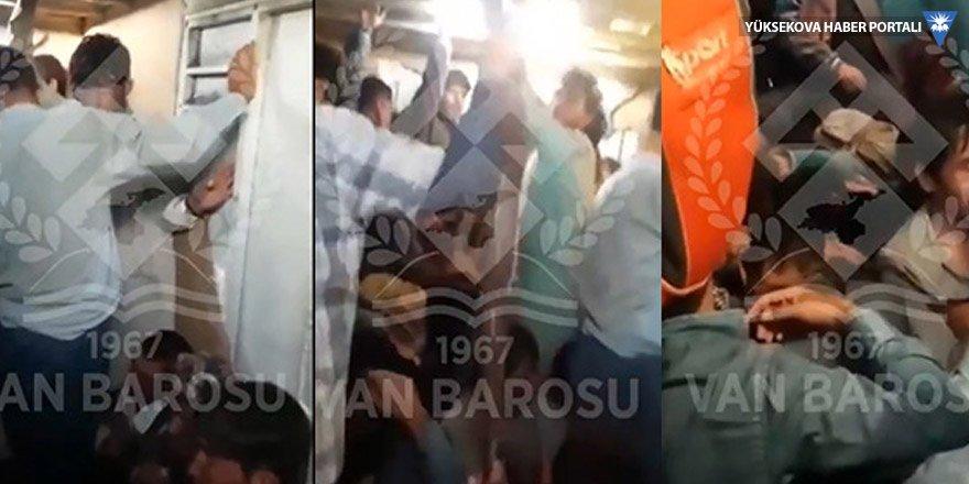Van'da batan mülteci teknesinden son görüntüleı