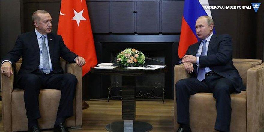 Erdoğan Putin'le Suriye ve Libya'yı görüştü, Putin aşı önerdi