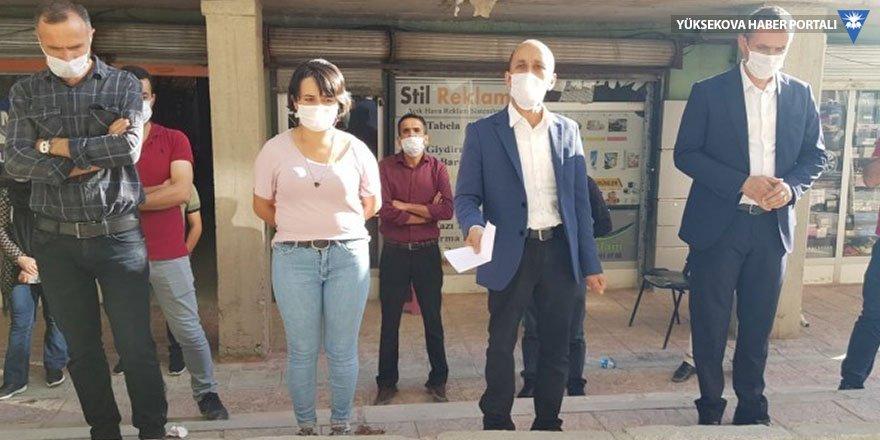 Hakkari'de tutuklananlar arasında koronavirüse rastlanıldı