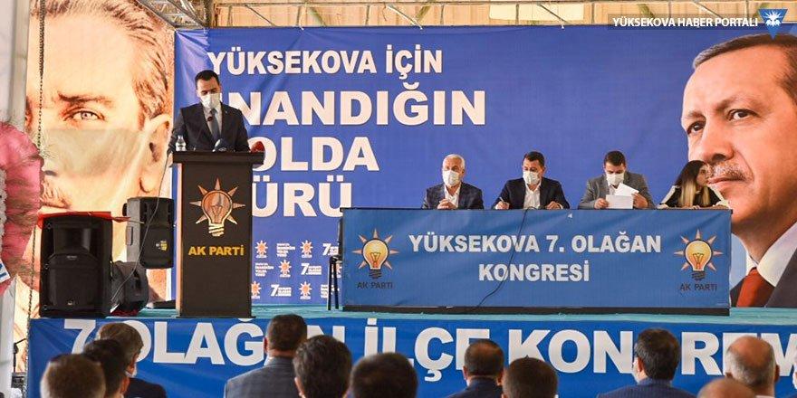 AK Parti Yüksekova İlçe Kongresi yapıldı