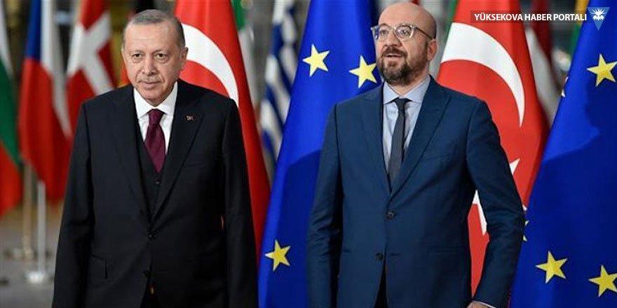 Erdoğan'dan AB Başkanı'na: Sorumlu davranın