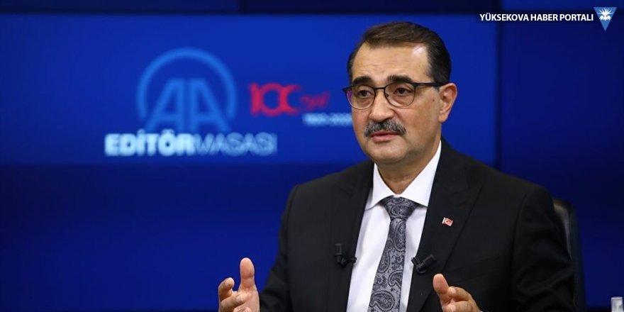 Enerji Bakanı Dönmez: Karadeniz gazı ithal ettiğimizden daha ekonomik olacak