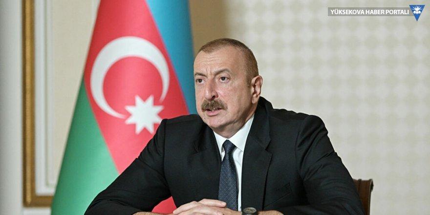 Azerbaycan lideri Aliyev: Ermenistan'ı uyarmıştım