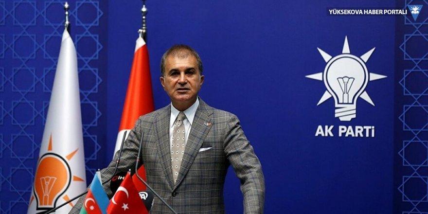 Çelik: Türkiye sonuna kadar Azerbaycan'ın yanındadır
