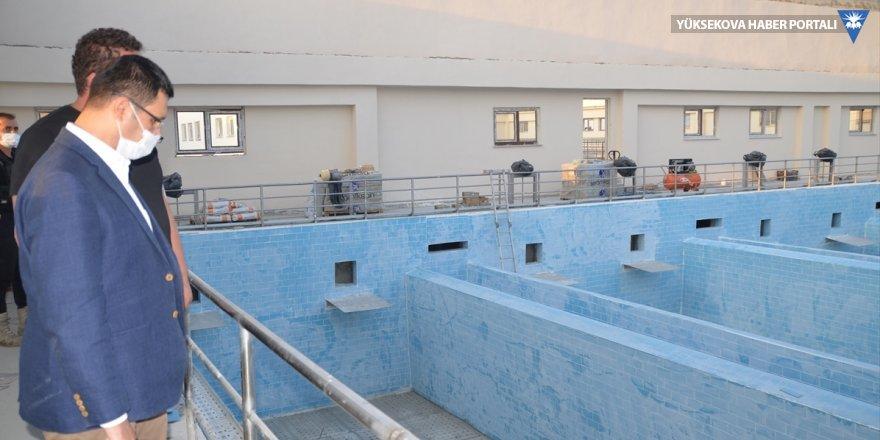 Doğramacı: Yüksekova Su Arıtma Tesisi Kasım ayında hizmete açılacak