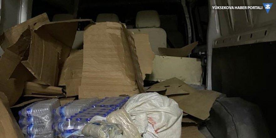 Başkale'de 27 kilo 794 gram eroin ele geçirildi