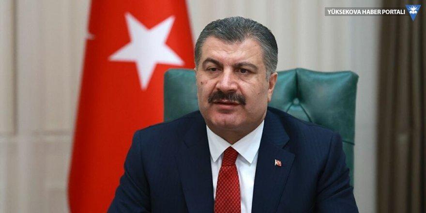 Fahrettin Koca'dan HDP'ye 'Sayın'sız teşekkür