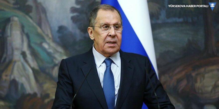 Lavrov, Çavuşoğlu'yla görüştü: Moskova'da kabul edilen 'Karabağ açıklamasının' maddeleri uygulanmalı