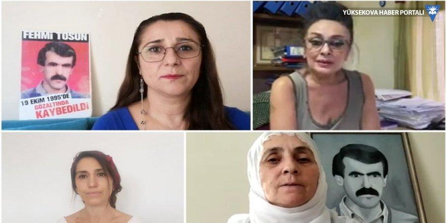 Cumartesi Anneleri: Hukuksal düzen talep ediyoruz