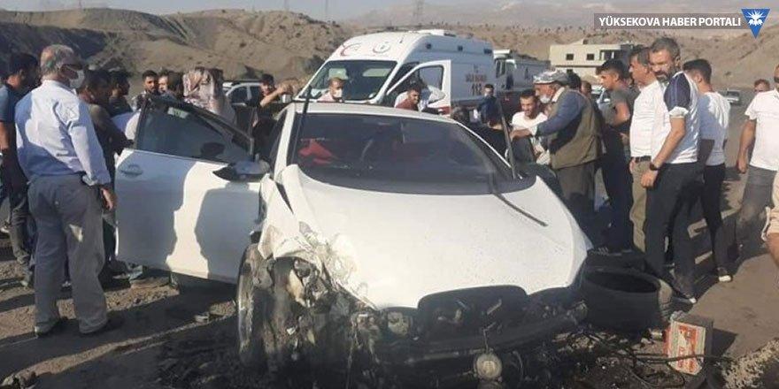 Şırnak'ta 2 ayrı kaza: 2 kişi öldü, 3 kişi yaralandı