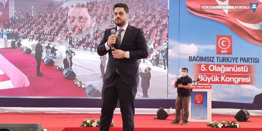 BTP Genel başkanlığına Hüseyin Baş seçildi