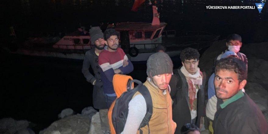 Van'da 22 yabancı uyruklu yakalandı