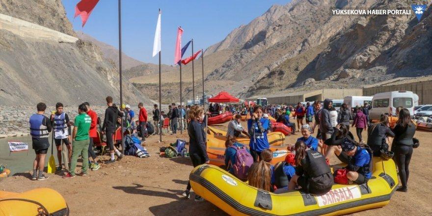 Hakkari'deki Türkiye Rafting Şampiyonası sona erdi