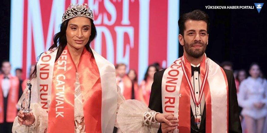 Yüksekovalı Özcanan Best Model Türkiye yarışmasında üçüncü oldu