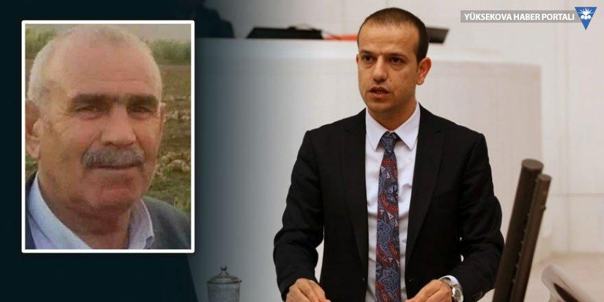 Şırnak Milletvekili Kaçmaz Yüksekovalı Dereli'yi Bakan Soylu'ya sordu