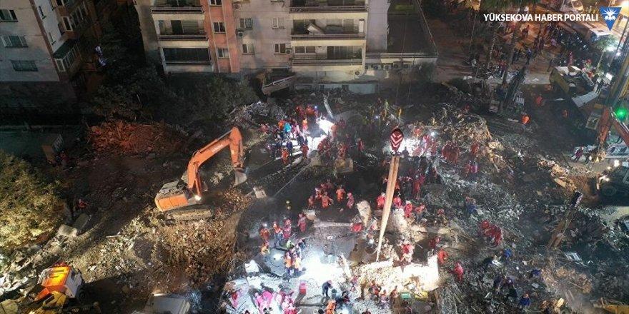 İzmir depremiyle ilgili gözaltına alınan 9 şüpheli adliyeye sevk edildi