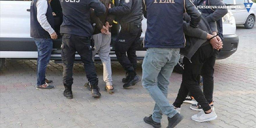 Adana merkezli IŞİD operasyonu: 19 gözaltı