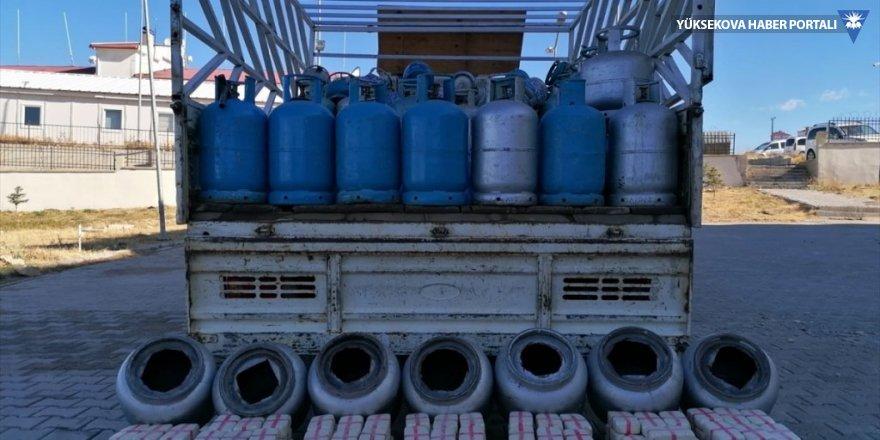 Van'da mutfak tüplerinde 105 kilogram eroin ele geçirildi
