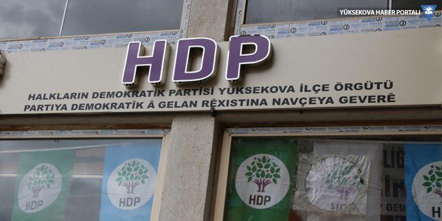 HDP'den Yüksekova'da halk toplantısına davet